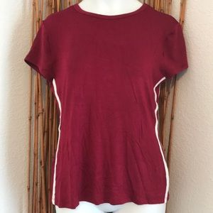 New Soft Wine Color Tee Shirt